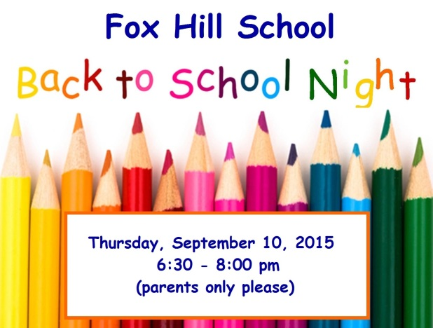 Back to School Night Logo 2015-16